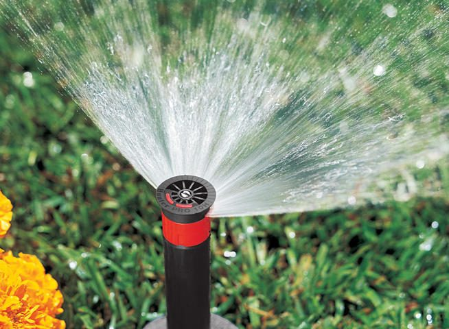 Sprinkler Head and Nozzle